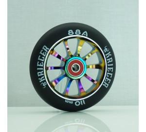Колесо KRIEGER для трюкового самоката 110мм AL KRW-007NB